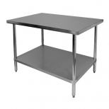 Commercial Stainless Steel Work Tables