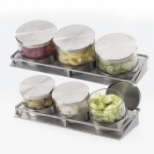 Condiment Jar Holders