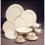 Cream Double Gold Dinnerware