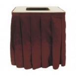 Decorative Trash Can Skirts