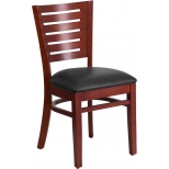 Flash Furniture Wood and Metal Restaurant Chairs