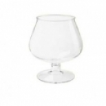 Plastic Brandy Glasses