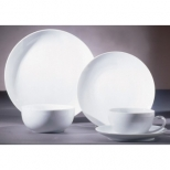 Royal Coupe White Dinnerware